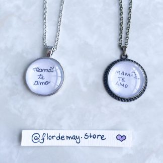 Colar chaveiro com letra letrinha do filho da filha mensagem para a mãe surpresa
